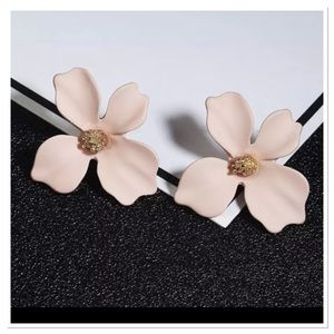 Pretty Pink Magnolia Earrings
